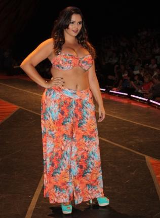 Cachopa Brasil - Fashion Weekend Plus Size Inverno 2013 - Foto: Gabriel Ortiz