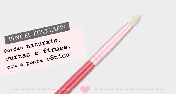 Pincel tipo lápis